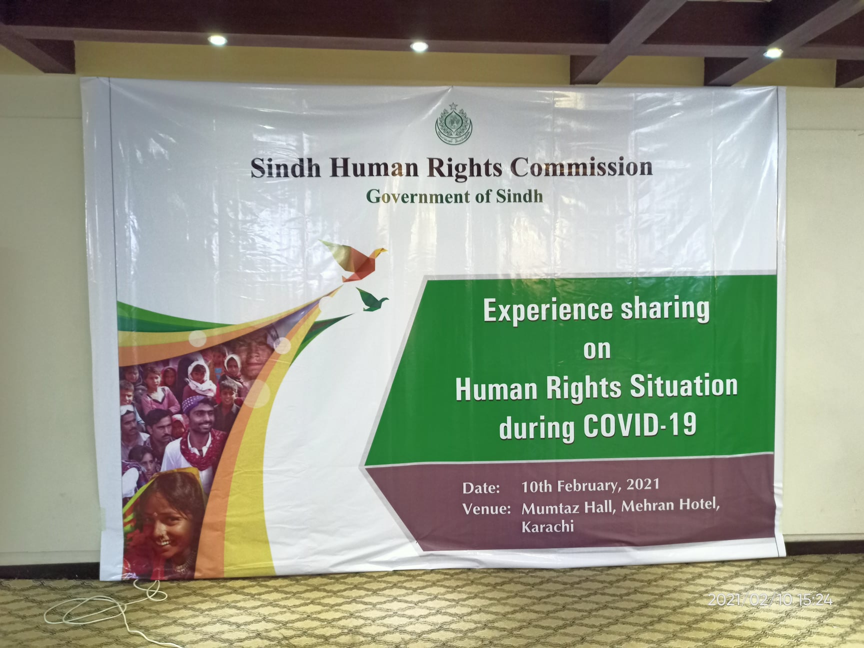 Experience Sharing on Human Rights Situation during COVID-19