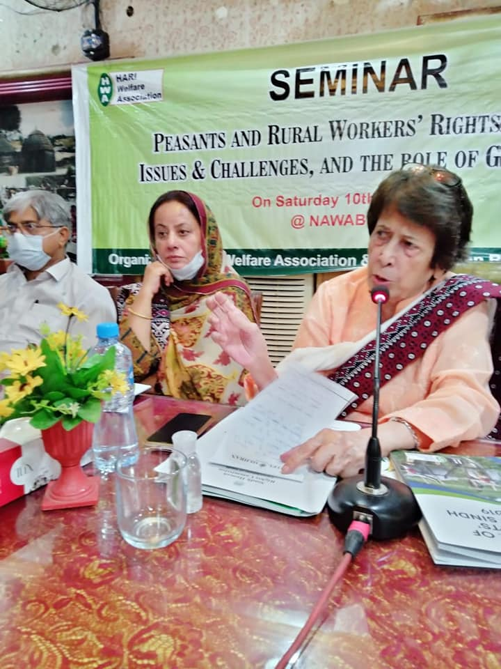 Seminar on Peasants and Labour Rights in Sindh